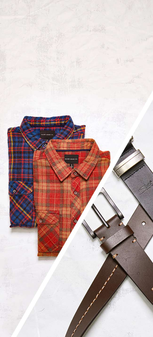Silver Jeans Co.- images of gifts for him