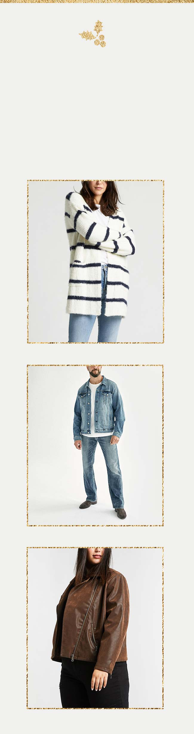 Silver Jeans Co.- Images of individuals wearing new arrivals