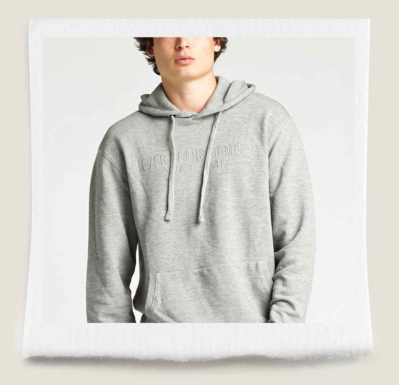 Allenby Grey Hoodie