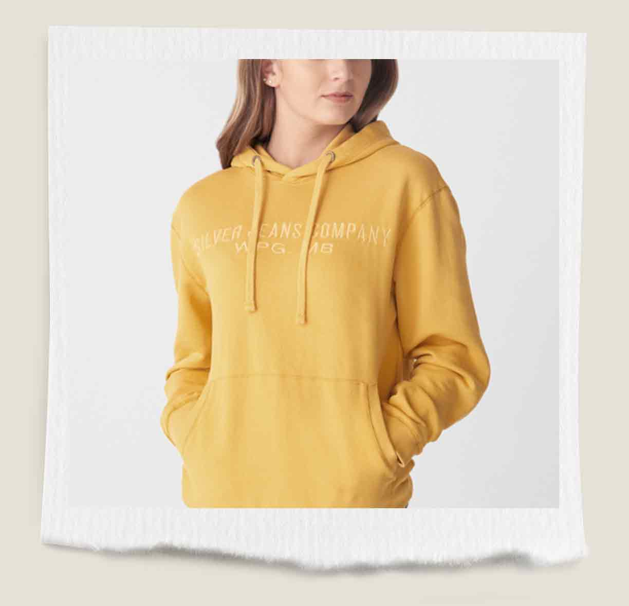 Allenby Yellow Hoodie