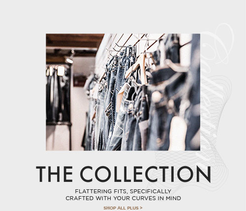 Silver Jeans Co. - The Collection - Flattering fits, specifically crafted with your curves in mind - Shop All Plus