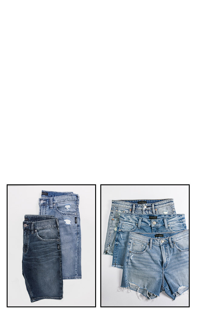 Silver Jeans Co.- Images of Shorts