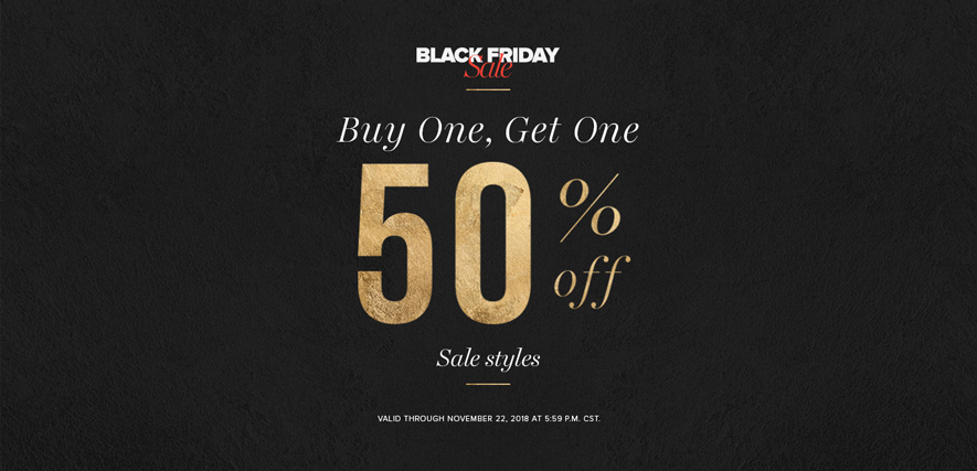 Black Friday Sale - Buy One, Get One 50% off Sale Styles