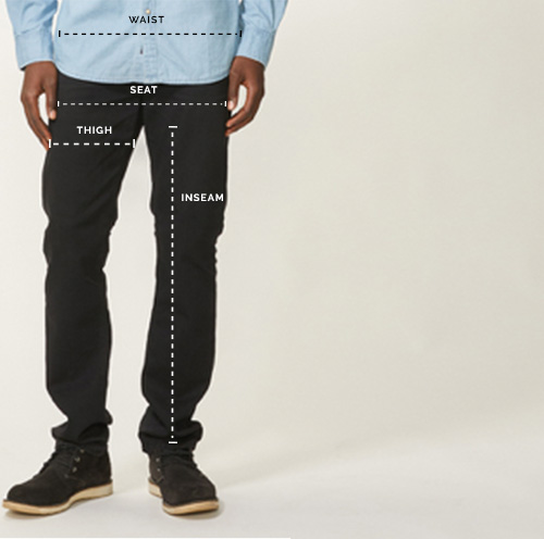 Men's Bottoms Size Chart