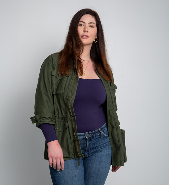 image of a female wearing a best selling style