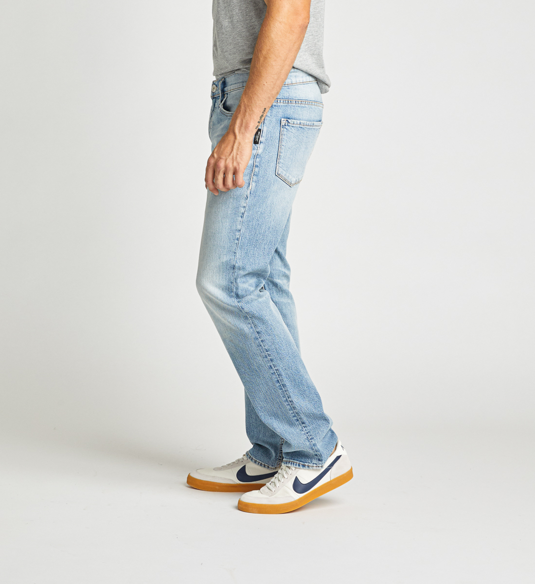 Allan Classic Fit Straight Leg Jeans Side