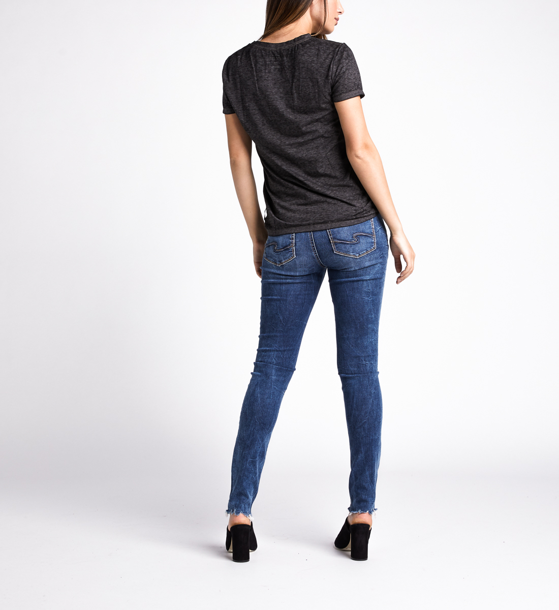 Mara Sunkissed Graphic Tee,Black Side