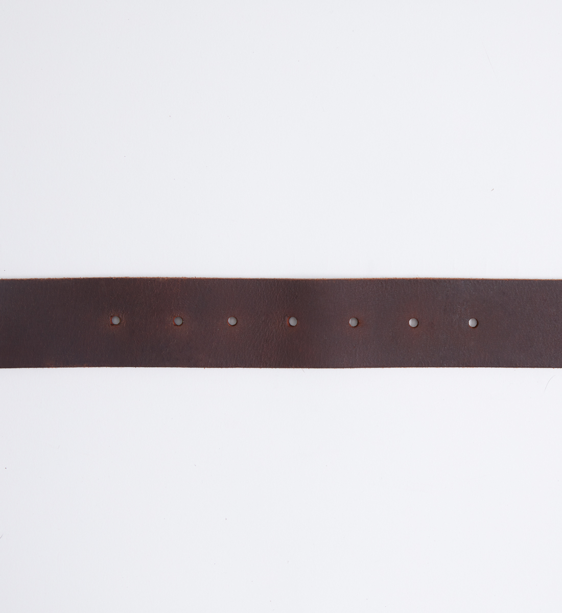 Classic Leather Womens Belt,Dark Brown Back