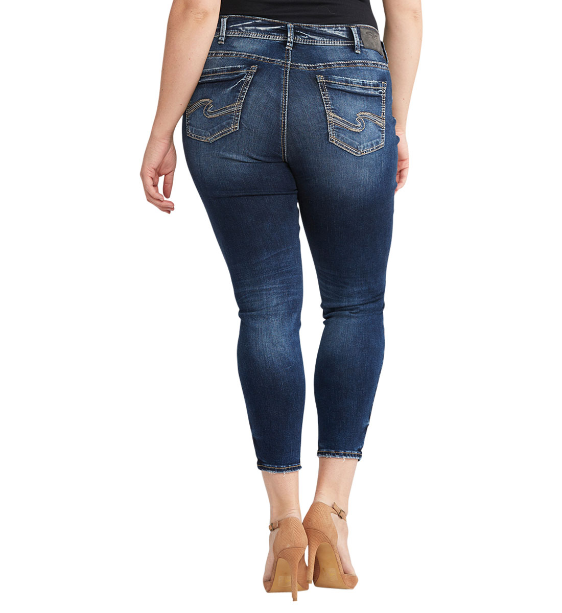 Avery Ankle Skinny Dark Wash, , hi-res