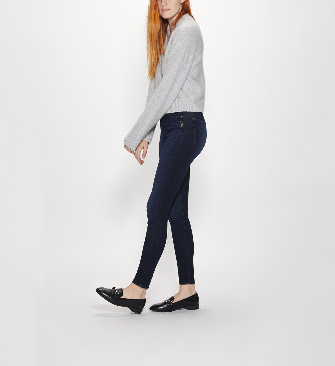 Mazy High Rise Skinny Leg Jeans Final Sale Alt Image 4