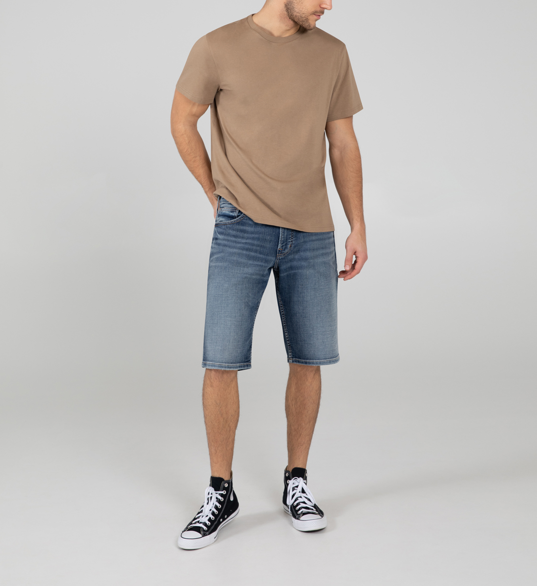 Gordie Loose Fit Shorts Front