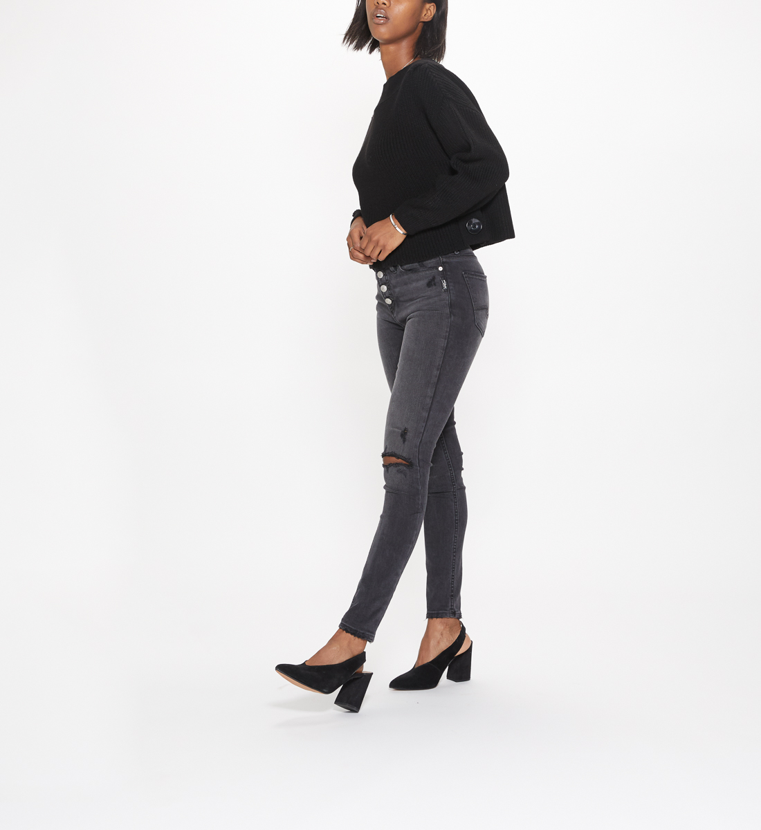 Robson High Rise Jegging Jeans Side
