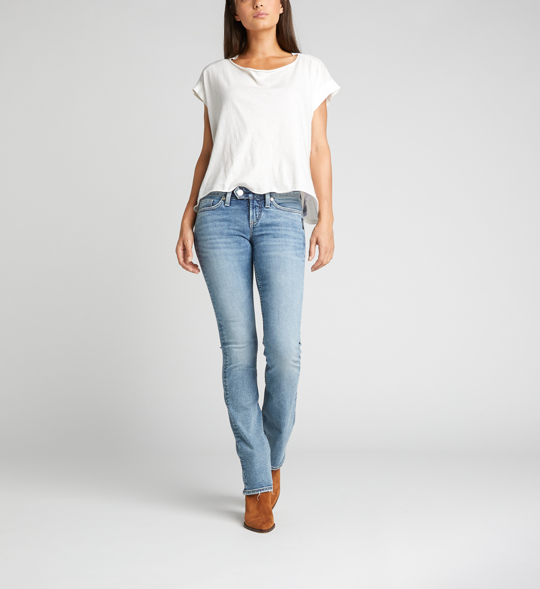 Tuesday Low Rise Slim Bootcut Jeans, , hi-res