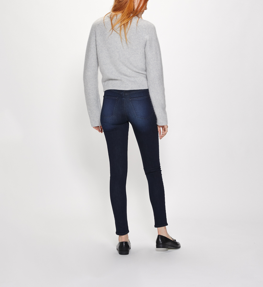 Mazy High Rise Skinny Leg Jeans Final Sale Alt Image 3