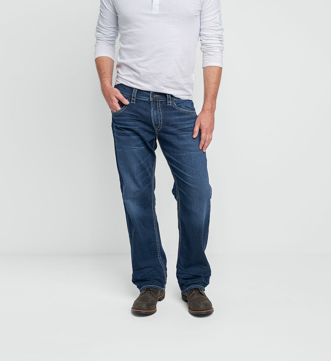 489fff1d Gordie Straight Leg Dark Wash | Silver Jeans