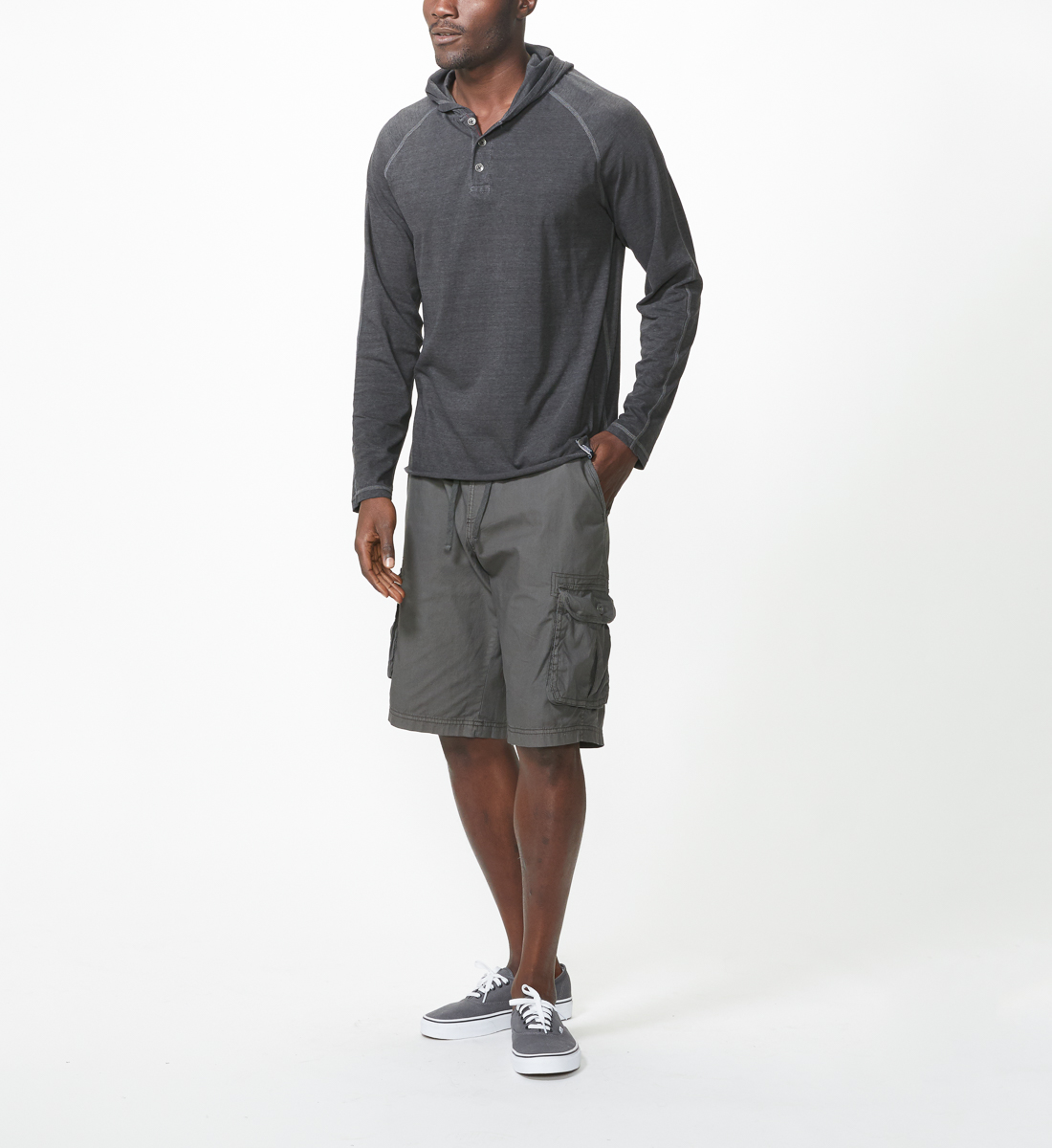 Ryan Cargo Shorts, Vintage Black, hi-res