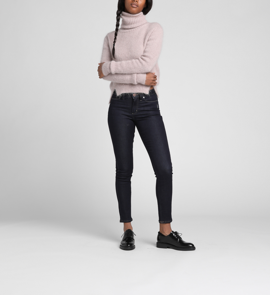 3efe1d1d Mazy High-Rise Skinny Jeans | Silver Jeans
