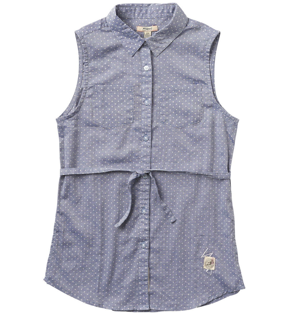 Sleeveless Polka-Dot Tunic (4-7), , hi-res