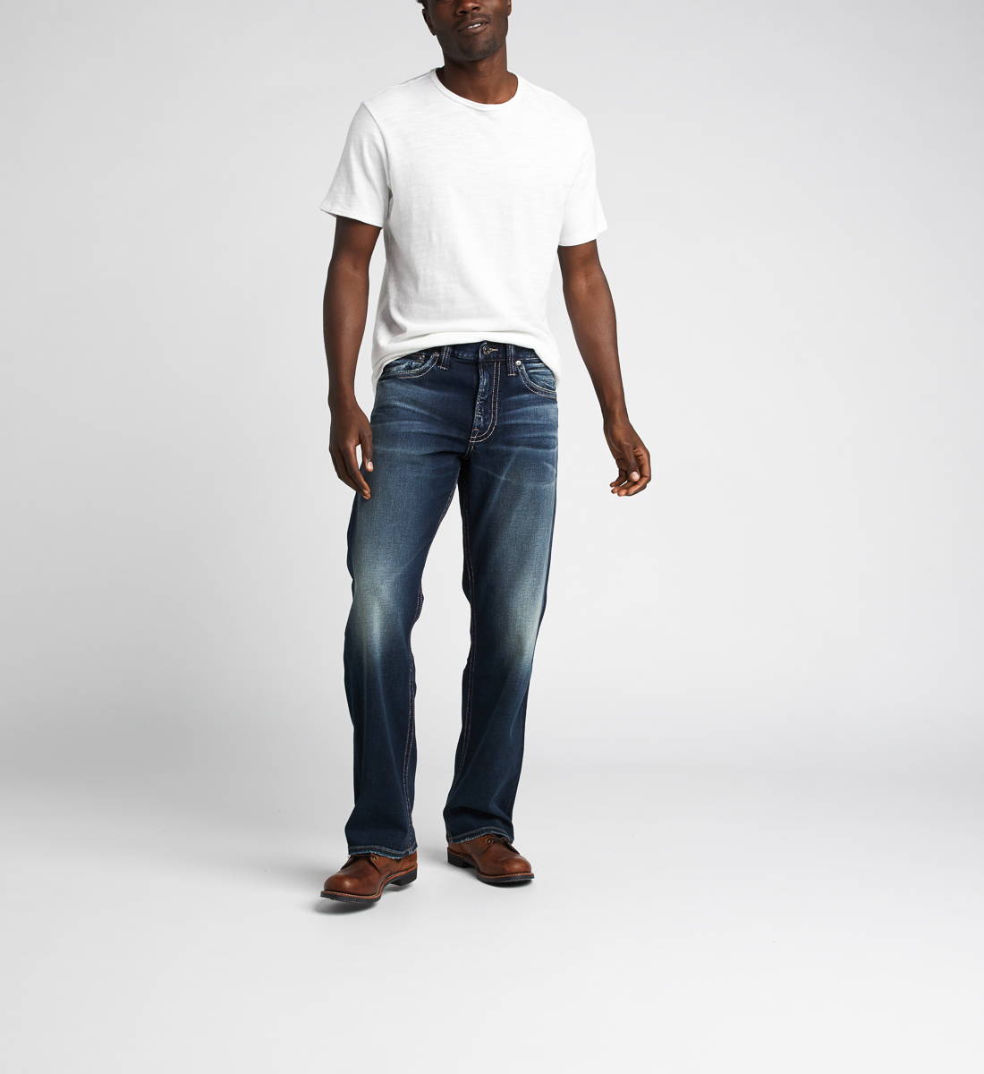 Zac Relaxed Fit Straight Jeans Alt Image 1