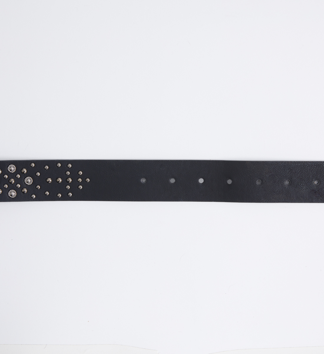 Western Studded Womens Belt Side