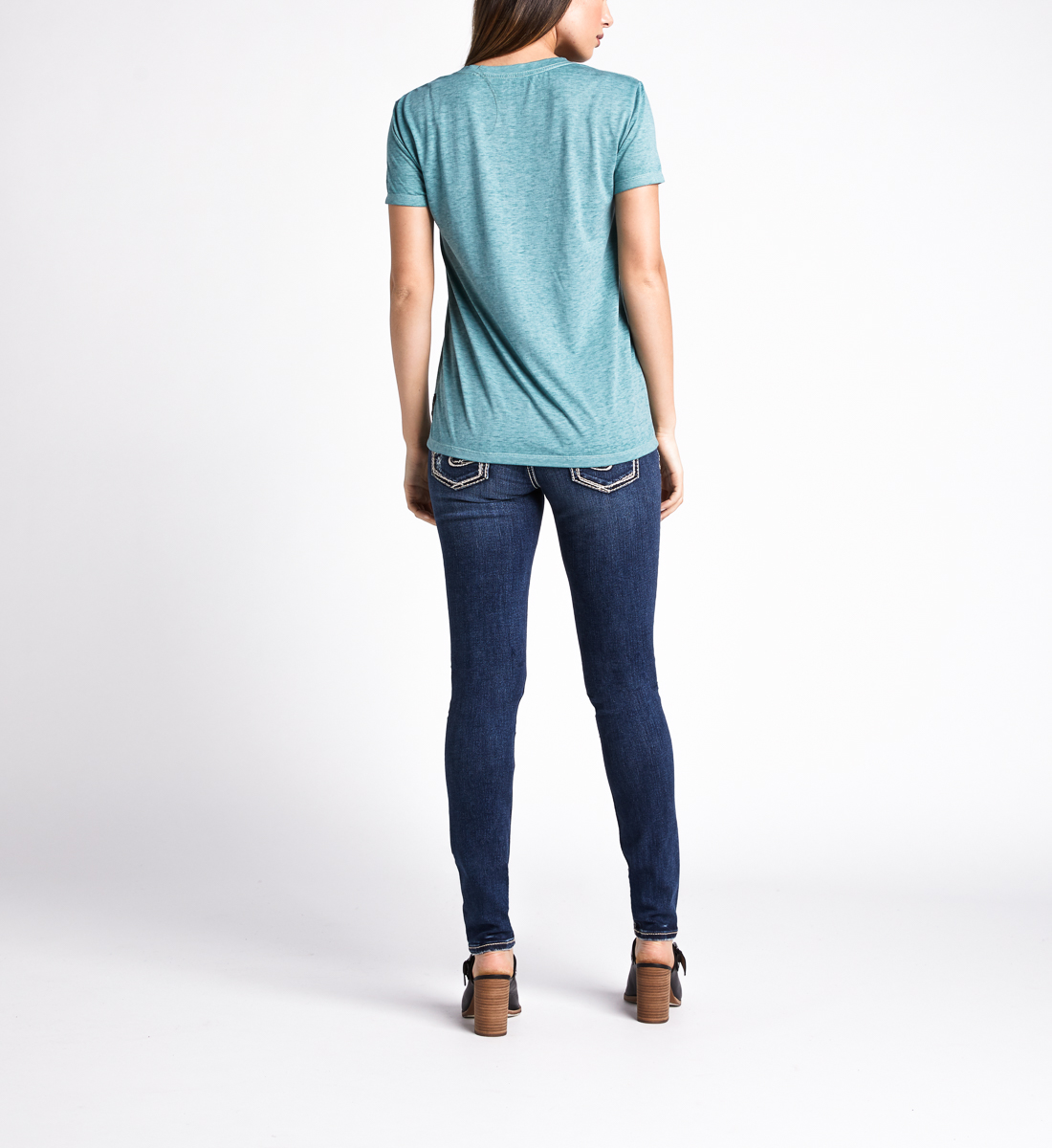 Mara Sunkissed Graphic Tee,Dusty Green Side