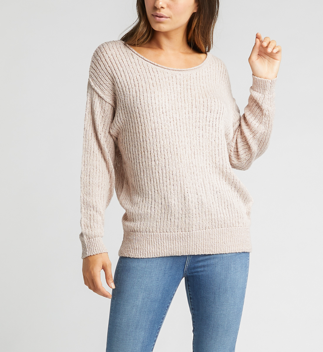 Seren Sweater,Blush Front