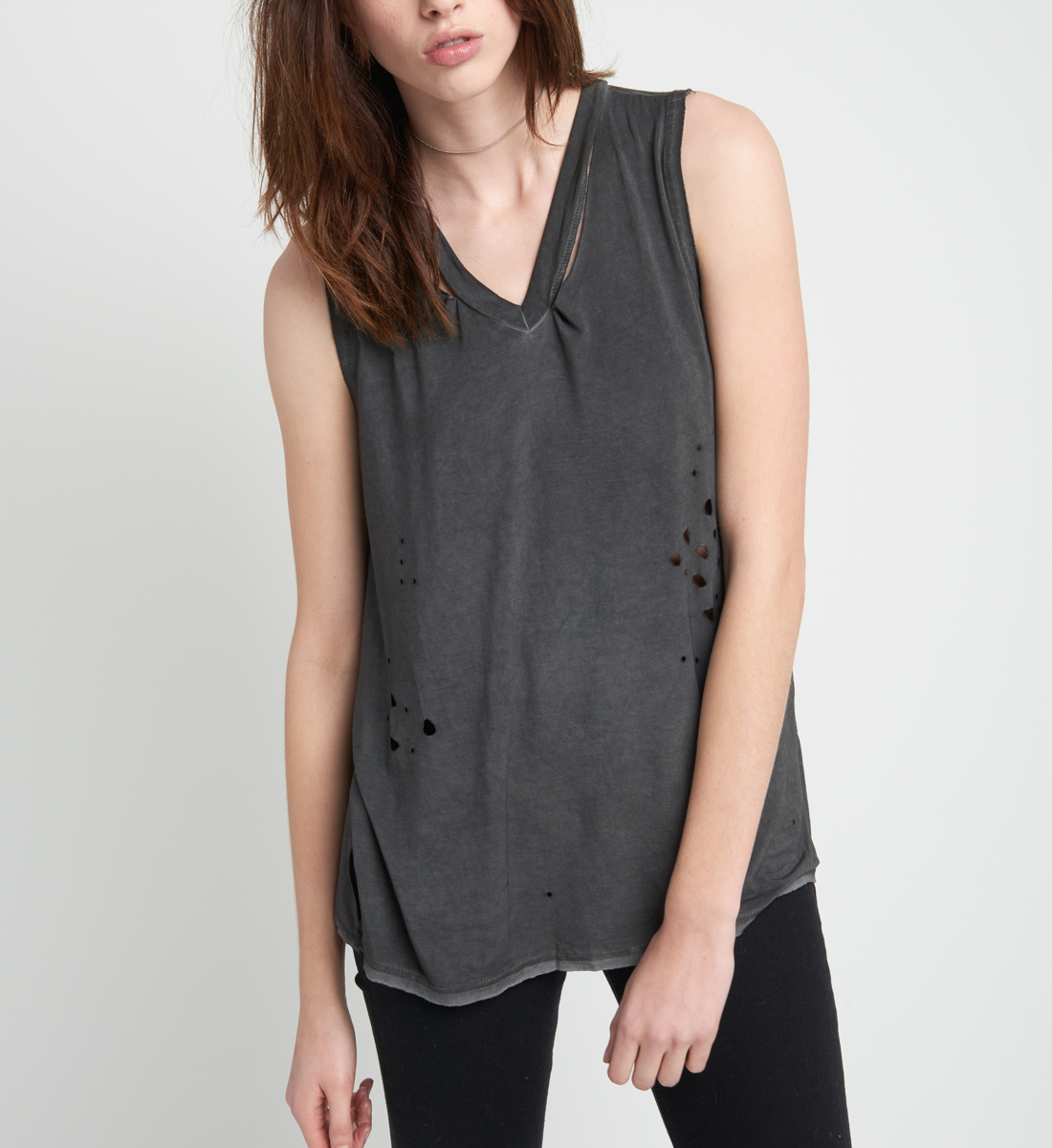 Perry Destructed Tee, , hi-res