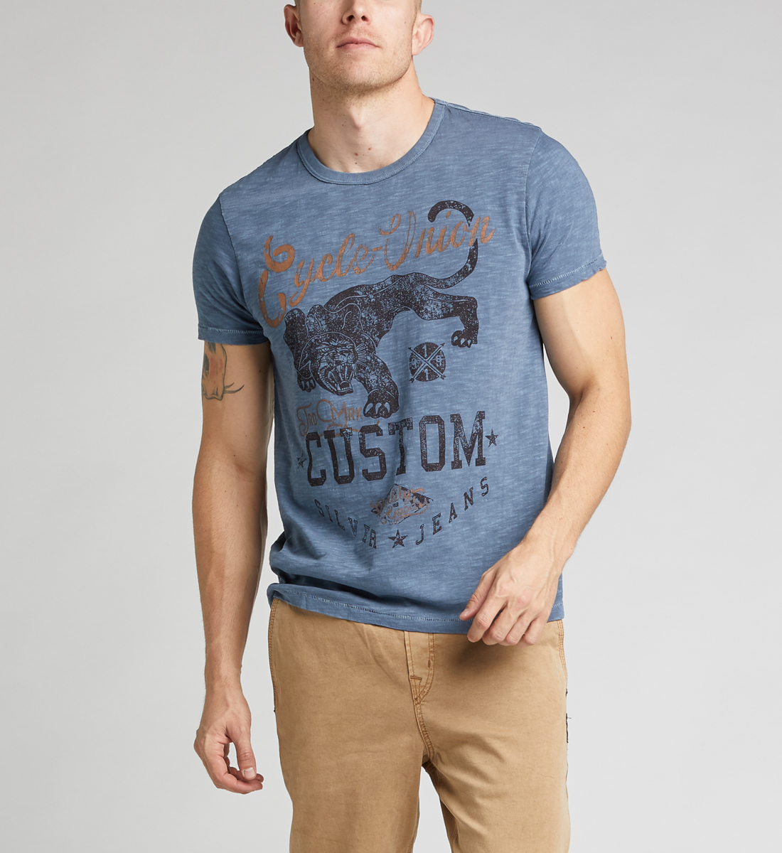Dane Short-Sleeve Graphic Tee Front