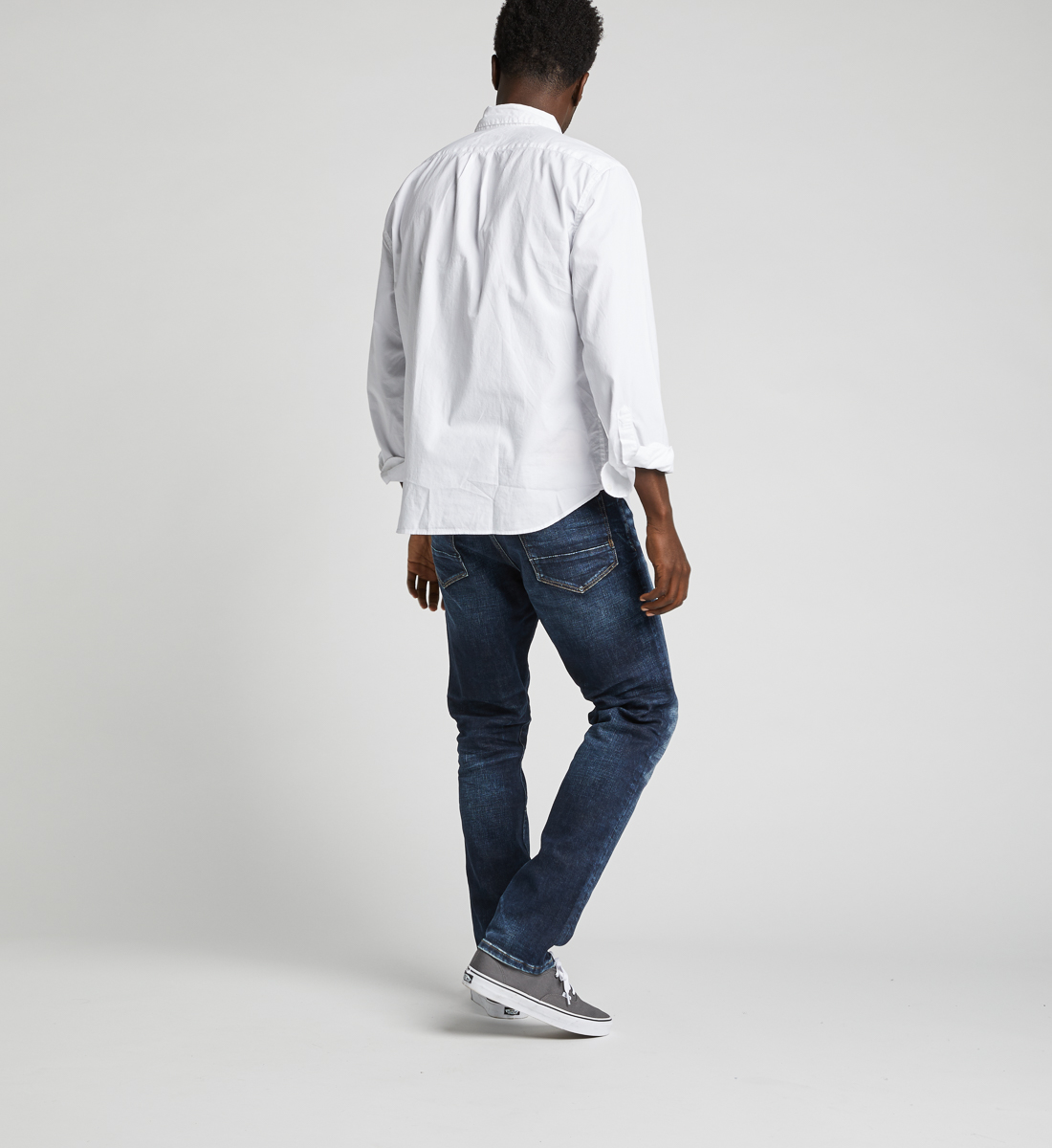 Machray Classic Straight Jeans Back