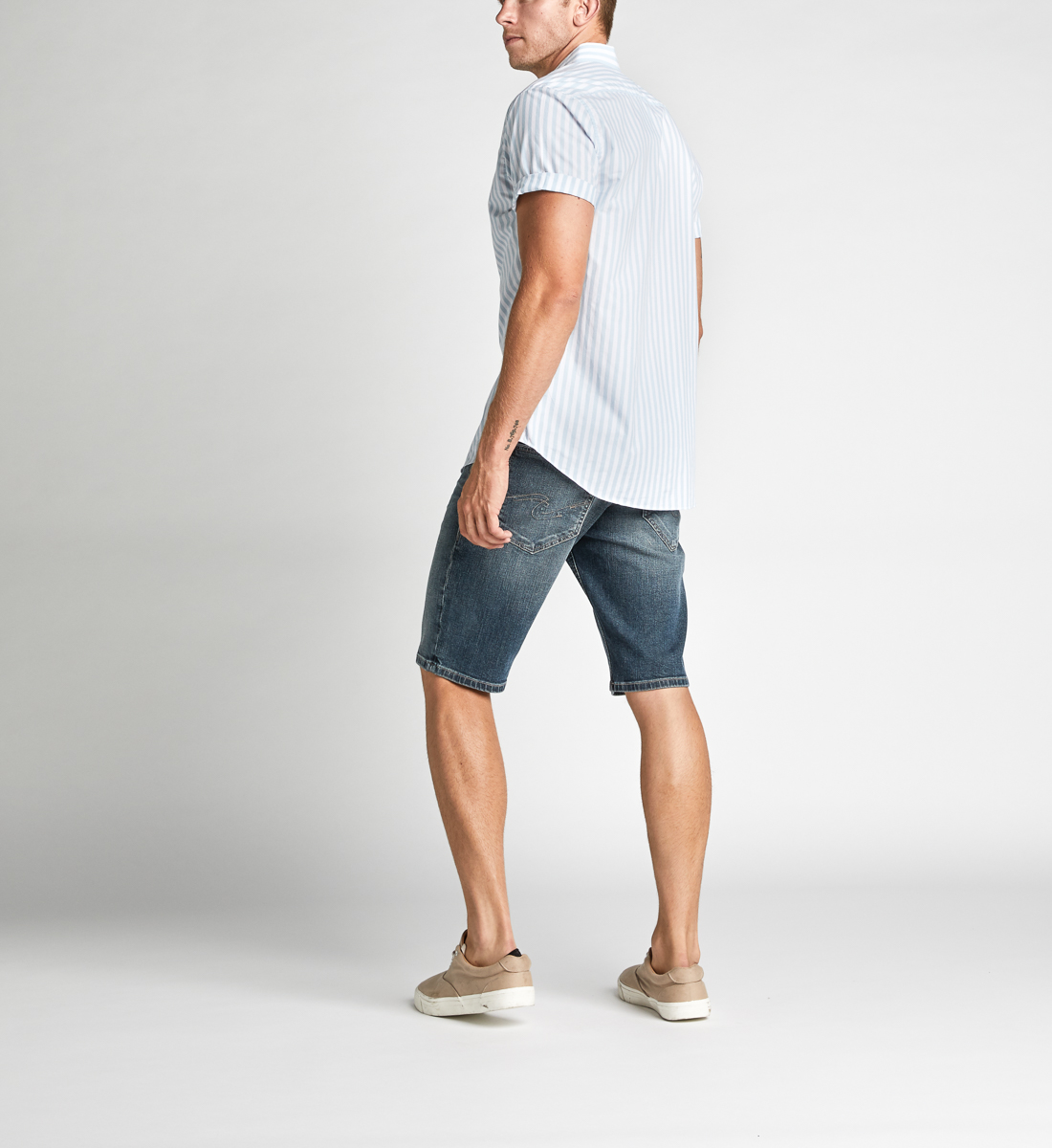 Zac Relaxed Fit Shorts Back