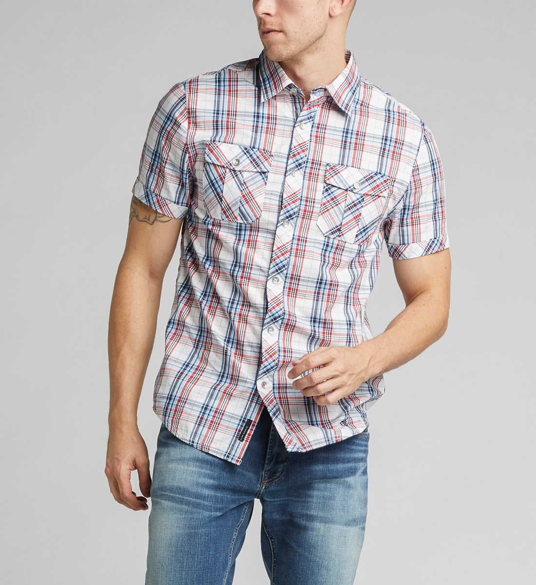 Colino Short-Sleeve Classic Shirt, , hi-res