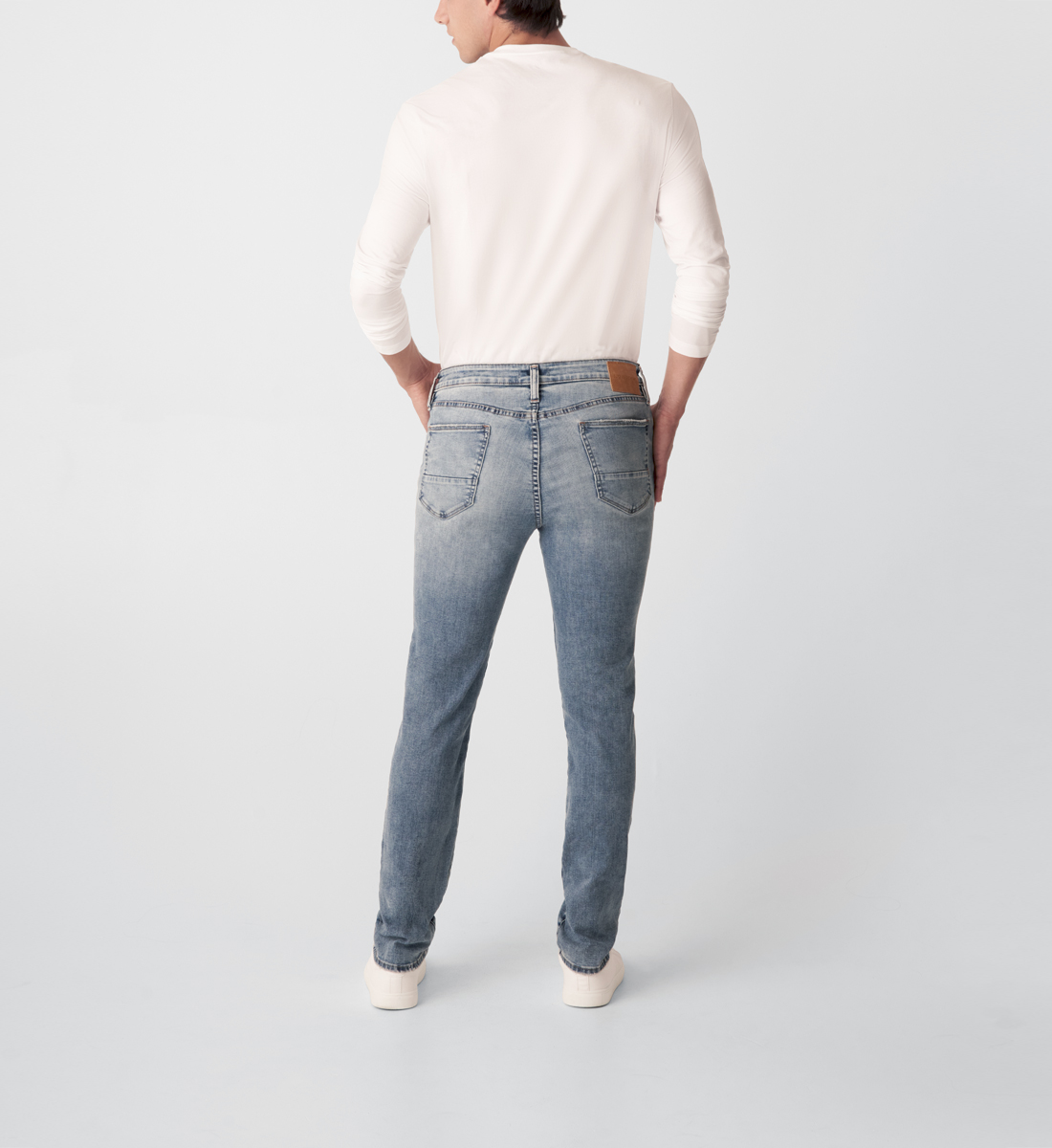 Kenaston Slim Fit Slim Leg Jeans Back