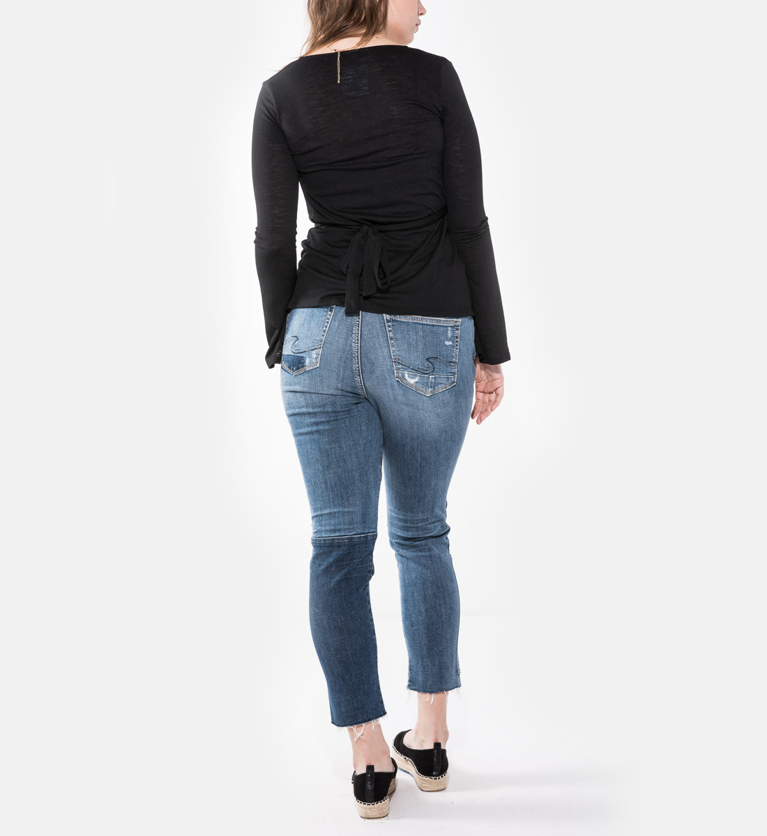 Izzy High Rise Ankle Slim Jeans Plus Size, , hi-res