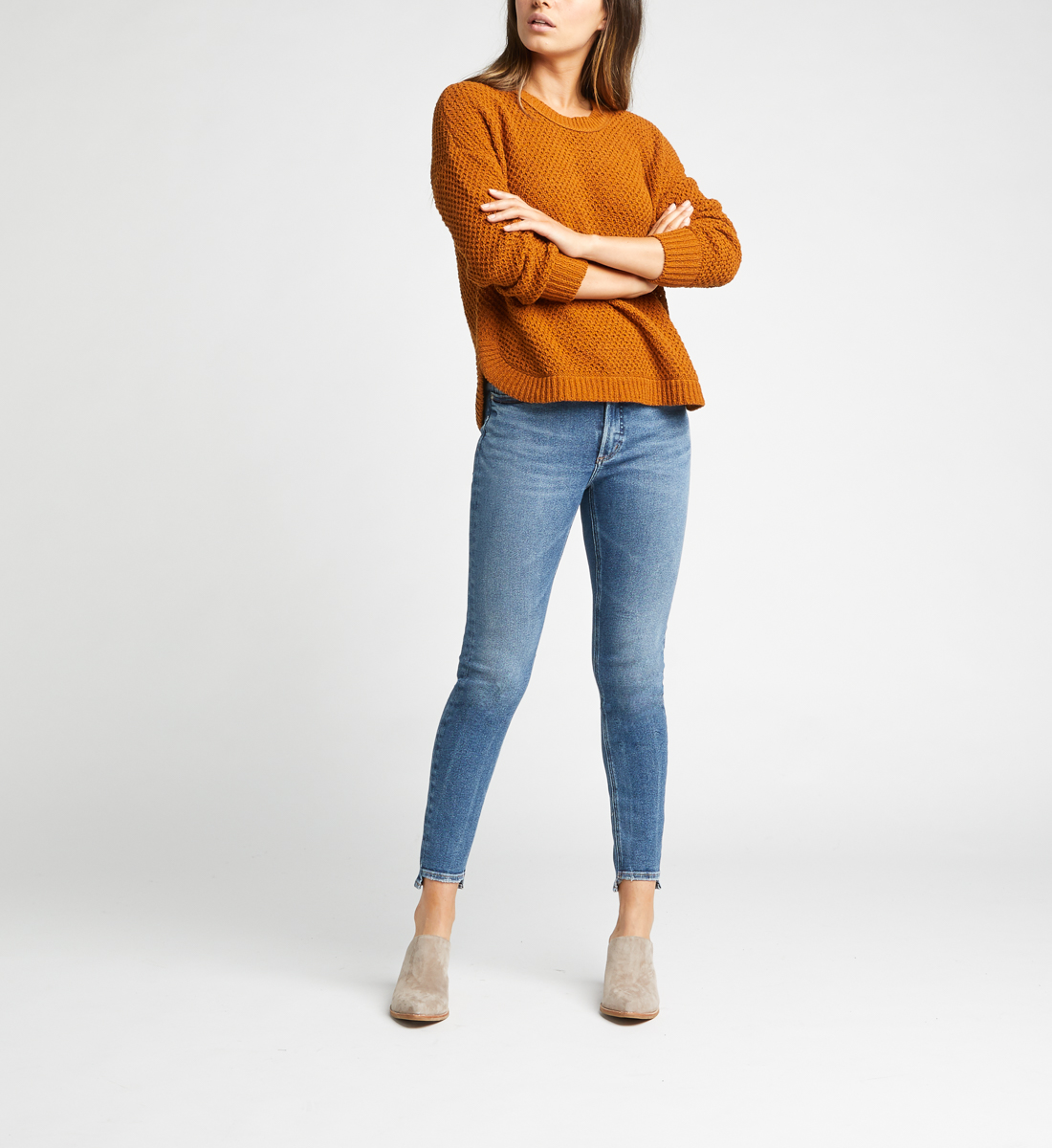 Most Wanted Mid Rise Skinny Jeans Alt Image 1