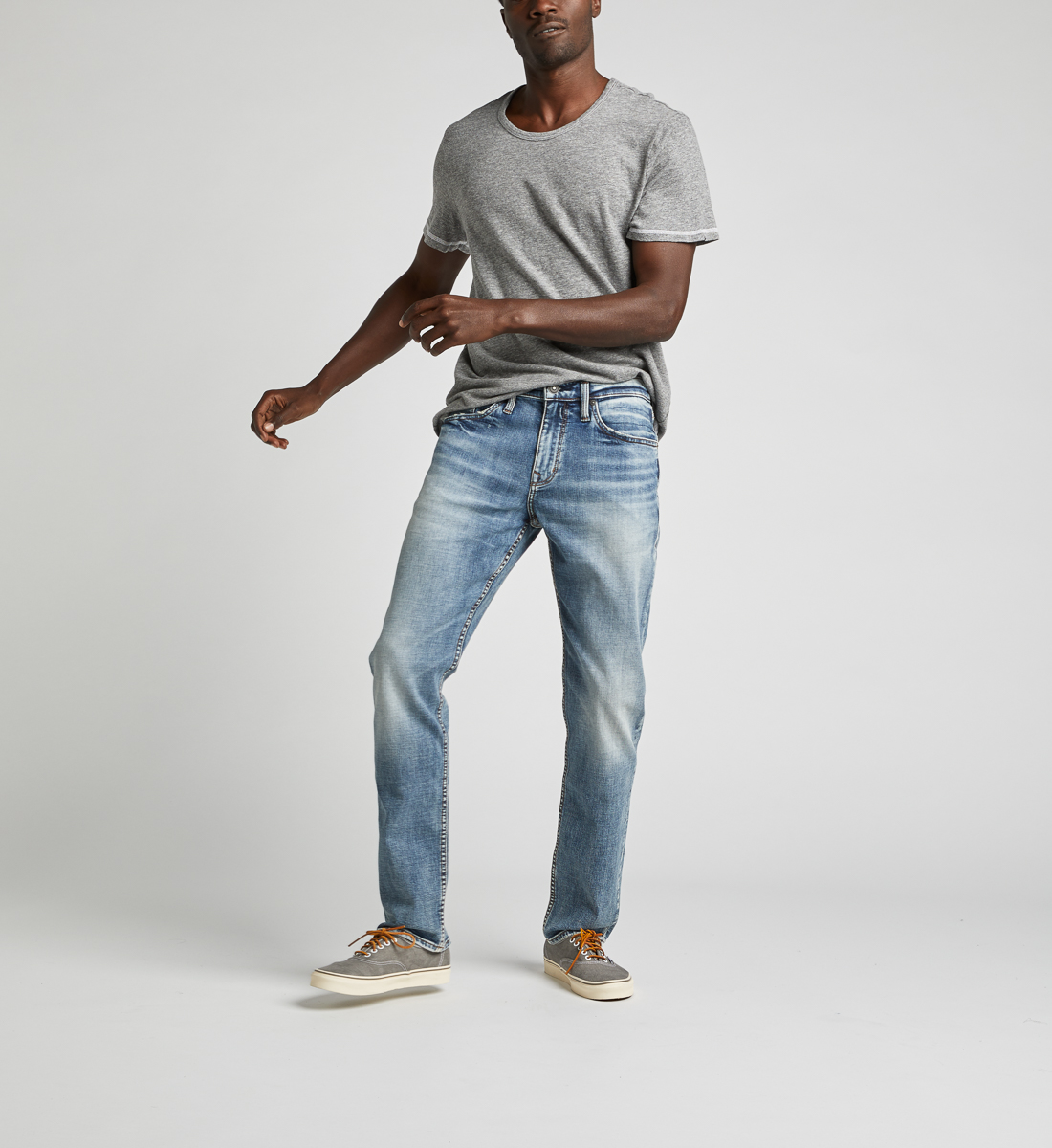 Machray Classic Straight Jeans Front