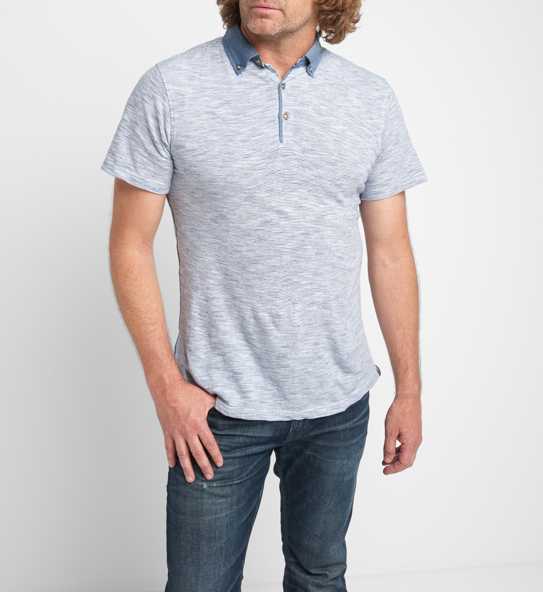 Bryon Short-Sleeve Polo, , hi-res