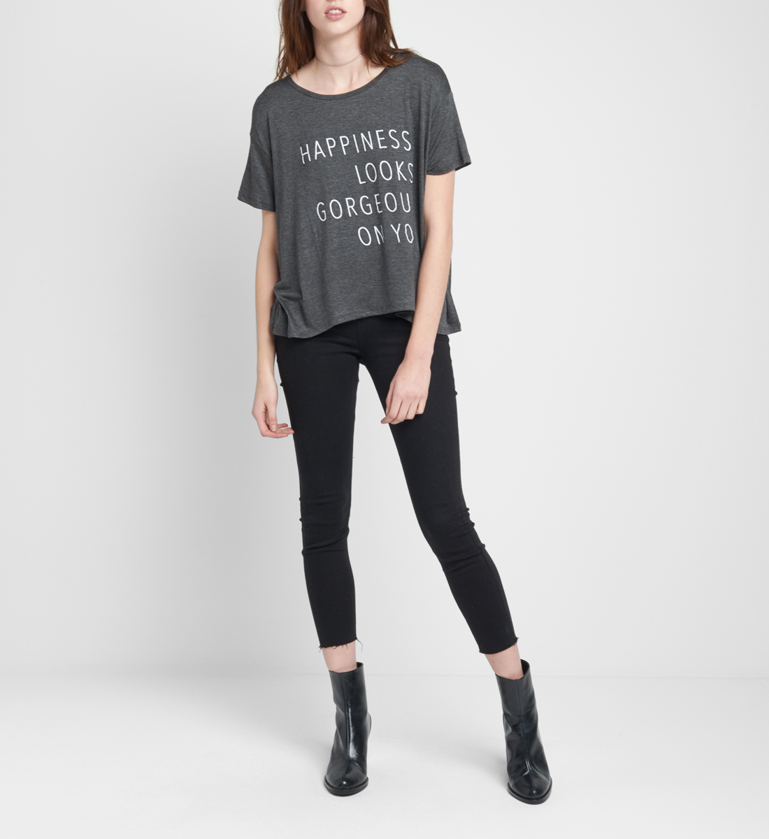 Happiness Graphic Tee, , hi-res
