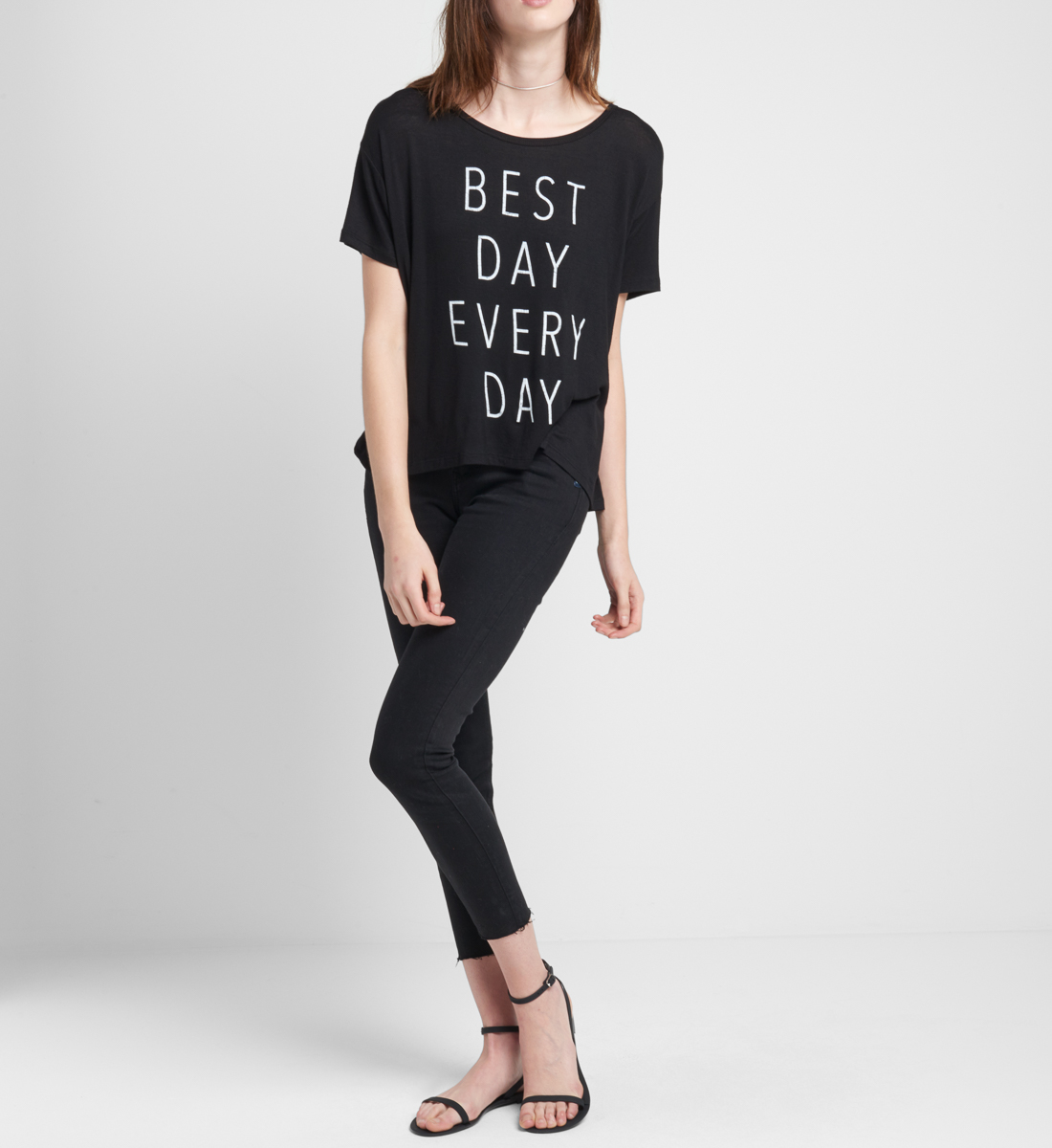 Best Day Graphic Tee Side
