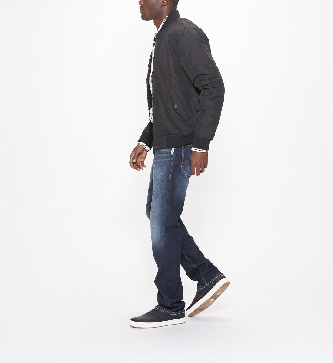 129b001d Grayson Straight Mens Dark Wash   Silver Jeans
