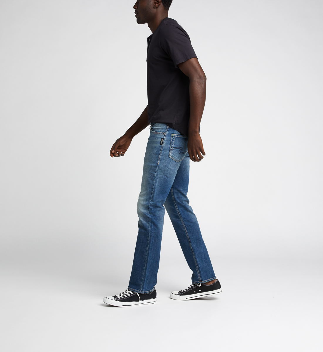 Allan Classic Fit Straight Jeans Side