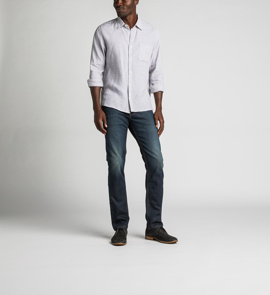 Silver Jeans Mens Konrad Slim Fit Slim Leg