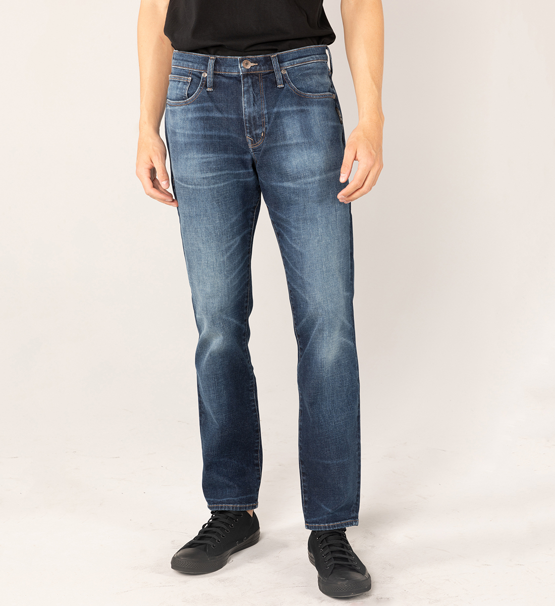 MACHRAY CLASSIC FIT STRAIGHT LEG JEANS Big & Tall Front