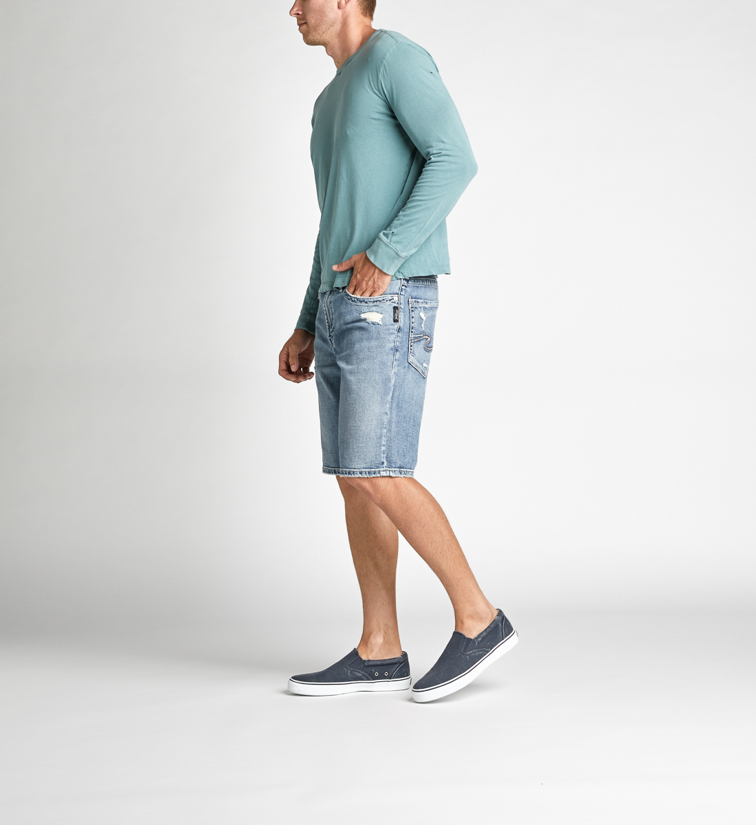 Zac Relaxed Fit Shorts Side