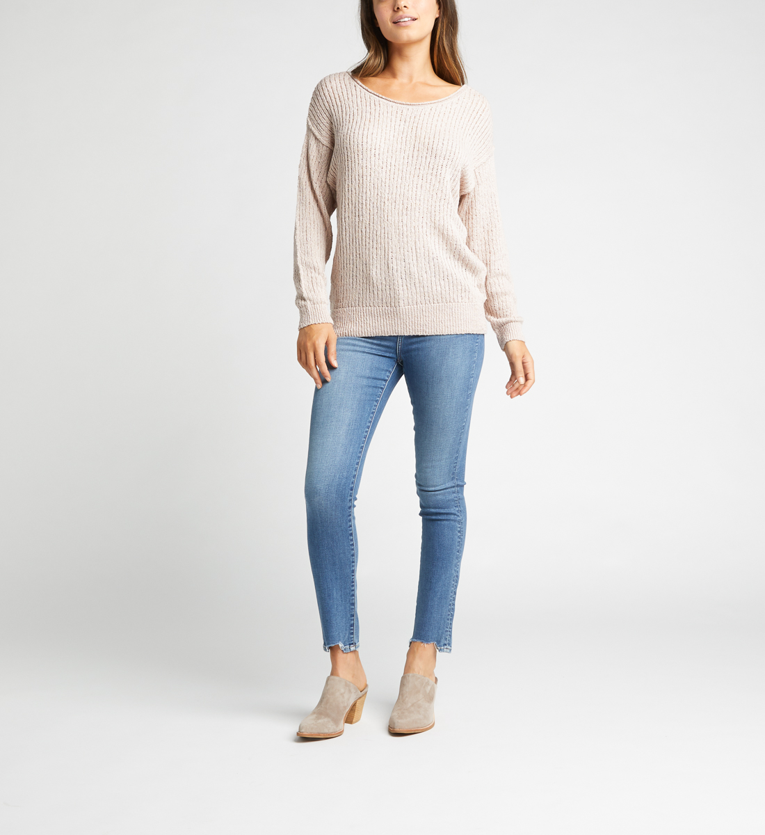 Seren Sweater,Blush Back