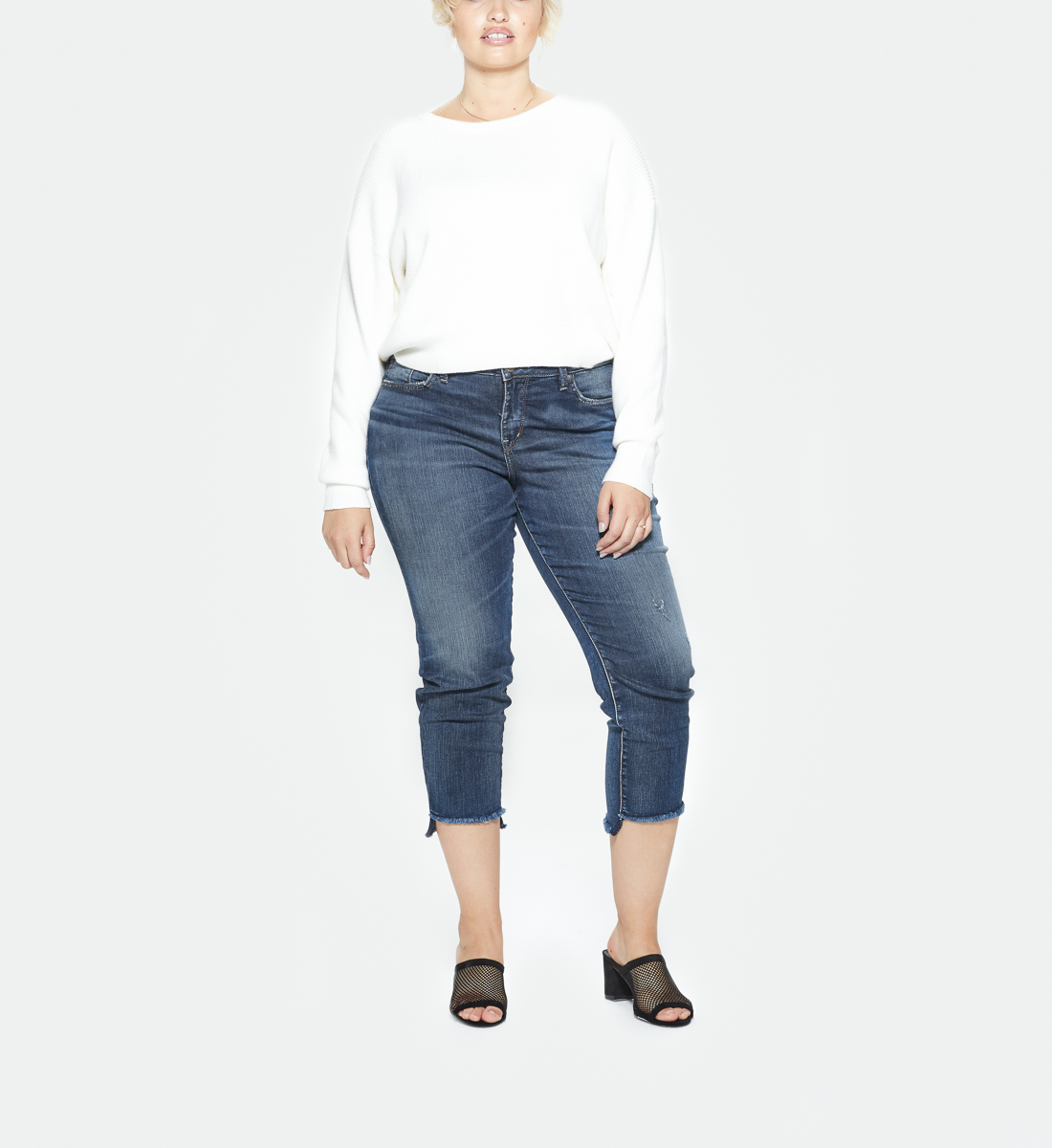 b4a1c0b6 Avery High Rise Skinny Crop Jeans Plus Size, , hi-res