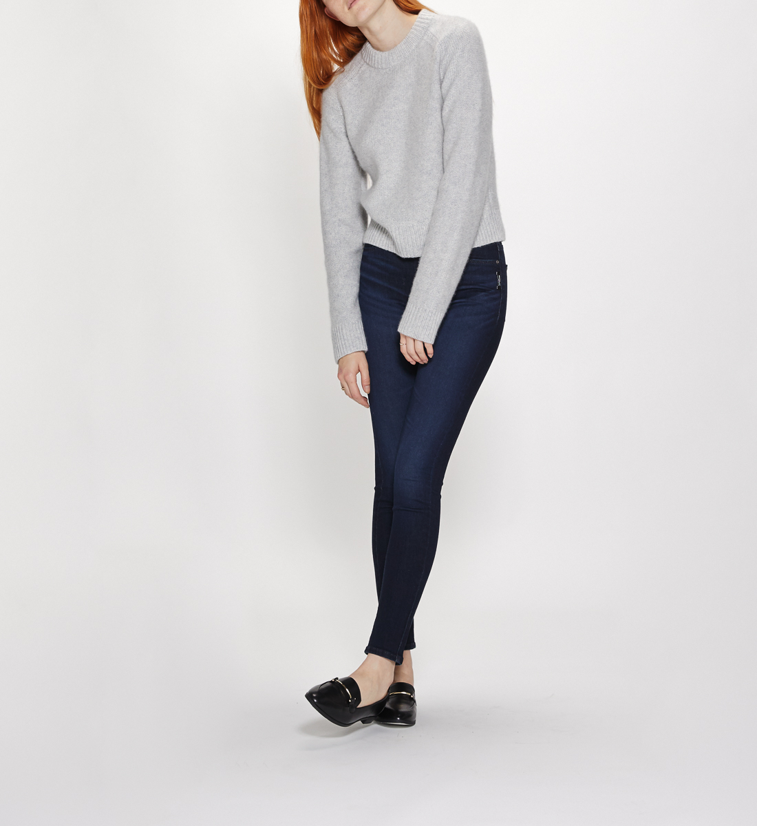 Mazy High Rise Skinny Leg Jeans Final Sale Alt Image 2
