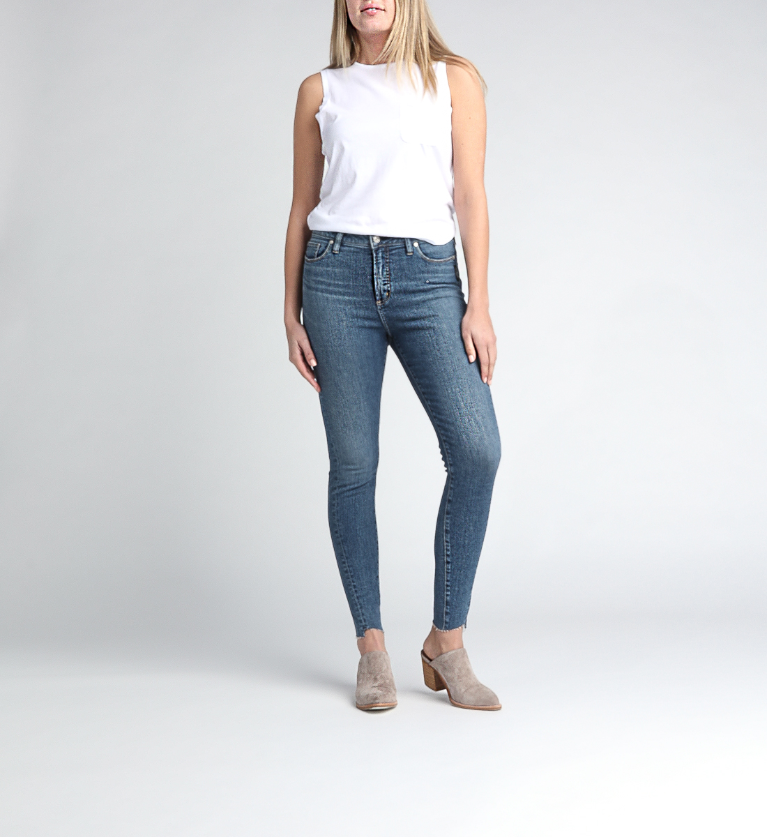 High Note High Rise Skinny Leg Jeans Alt Image 1