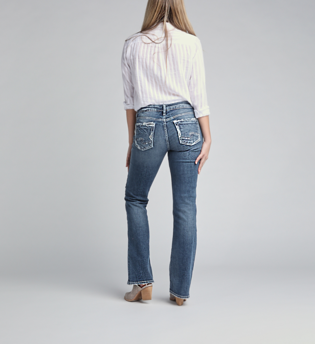 Suki Mid Rise Bootcut Jeans, , hi-res