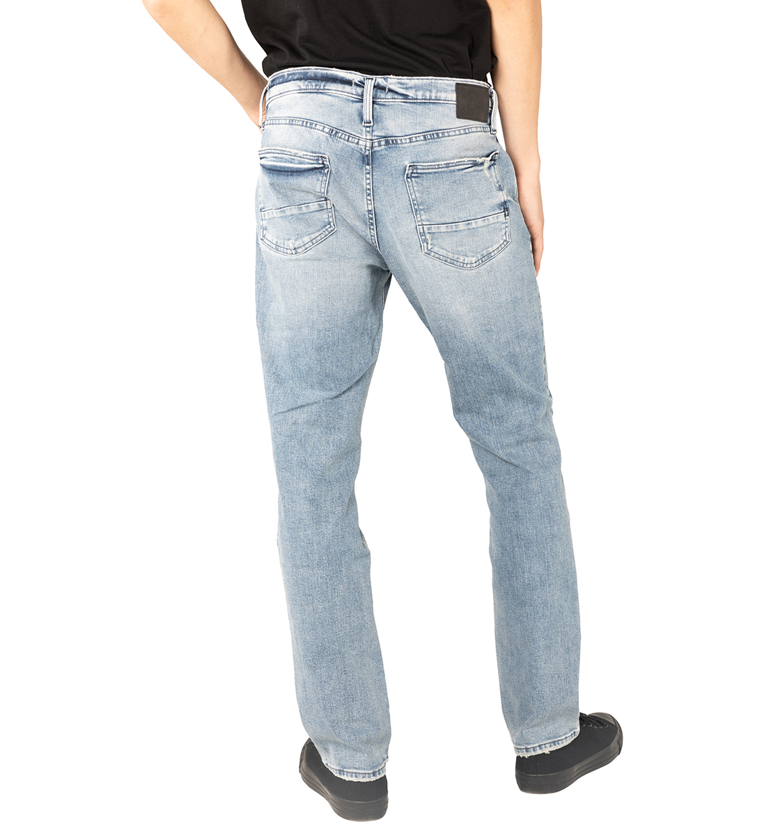 Machray Classic Fit Straight Leg Jeans Back