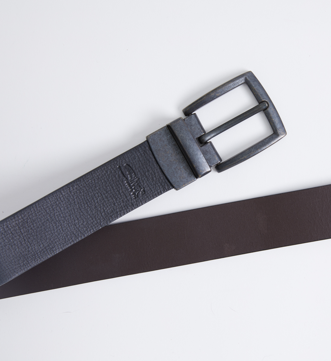Reversible Leather Mens Belt Alt Image 1